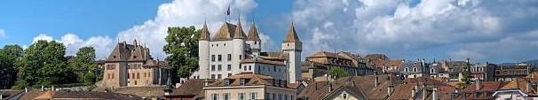 Schloss Nyon (gebaut um 1293)
